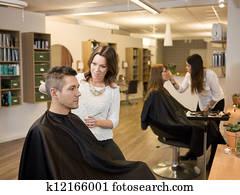 Beauty salon situation