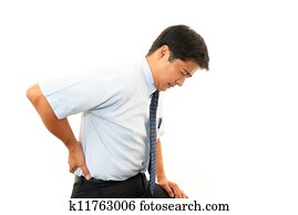 Businessman Back Pain
