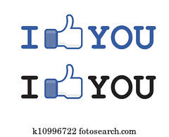 button like facebook