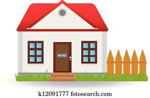Clipart casa disegno k20445812 cerca clipart for Mobilia lavagna