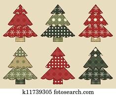 Christmas tree set 3