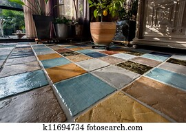 Floor Tile Stock Photos And Images 129 042 Floor Tile