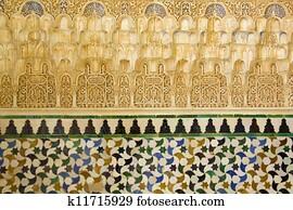 Gouden Mozaiek Tegels : Moors mozaïek tegels stock foto s en beelden moors mozaïek