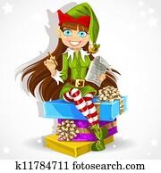 elf Santa assistant