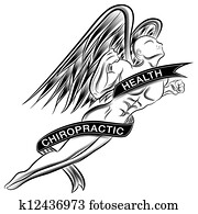Flying Chiropractic Angel