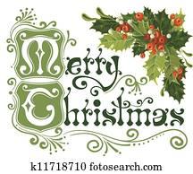 frohe weihnacht, karte