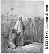 Jesus healing the demoniac boy