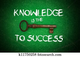 Knowledge is the key to success