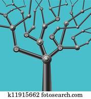 mechanical tree