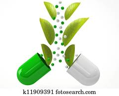 medical herbal pills