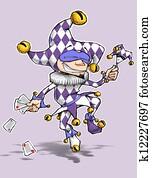 Purple Diamonds Fool