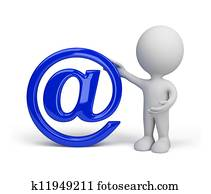 Sign of e-mail