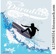 surfen, wellen
