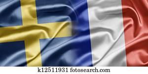 Sweden and France