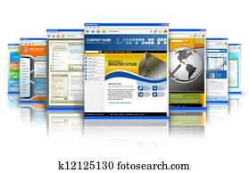 Technology Internet Websites Reflection