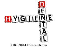 3D Hygiene Dental Crossword