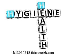 3D Hygiene Health Crossword