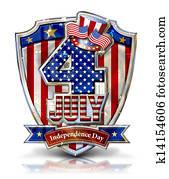 4th July Shield 2g