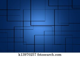 abstract lines square navy blue background