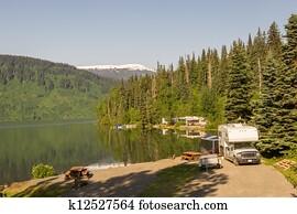 Alaskan camground