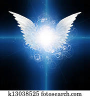 Angel winged