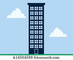Apartment Building Tall