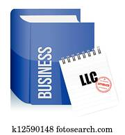 Approved stamp on a llc corporation
