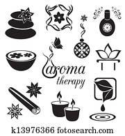 aromatherapy, heiligenbilder