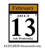 Ash Wednesday Tradition Stock Image 1782792 Fotosearch