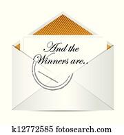 Award winners envelope concept