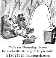 Bears want man to show them how to use tv