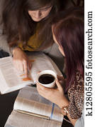 Bible Study And Coffee