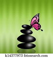 black stone massage