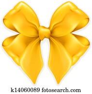 Bow golden