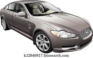 Luxury Car Clipart Royalty Free 6 005 Luxury Car Clip Art Vector