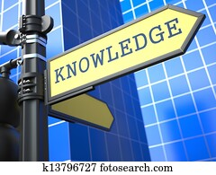 Business Concept. Knowledge Sign.