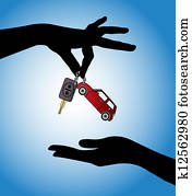 Car Sale - Car Key exchange