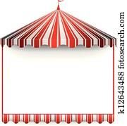 carnivals tent frame