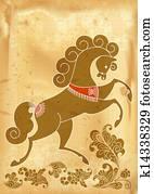 Stilizzato cavallo galleria di illustrazioni 244 for Cavallo stilizzato