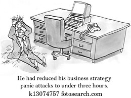 CEO has panic attacks about business strategy