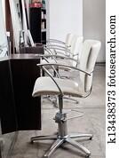 Chairs In Hair Salon