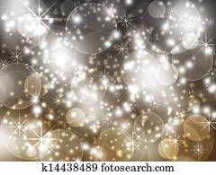 cheerful background with glitter