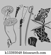 Civil War Clip Art Collection