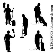Cleaning Silhouettes