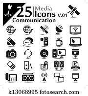 Communication Icons v.01