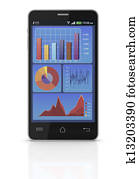 concept of mobile business