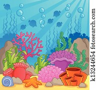 Coral reef theme image 3