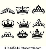 Crown icons