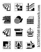 Decoration materials for interior