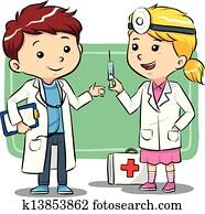 doktor, kinder